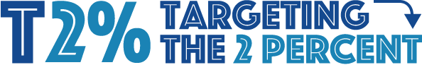 Logo for Targeting the 2 Percent