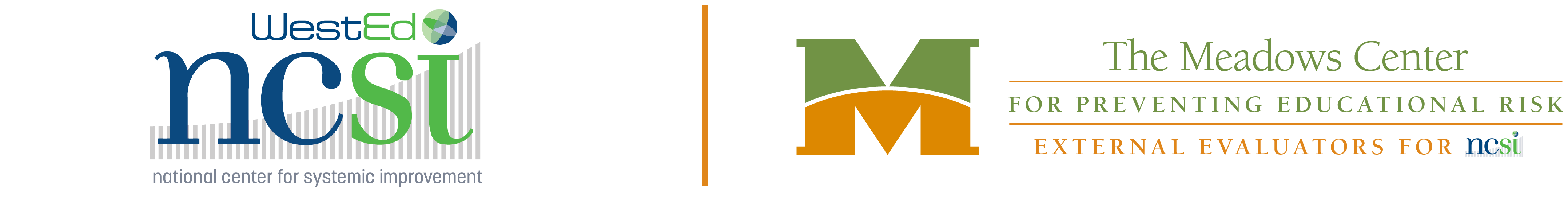 Logo for External Evaluation of the National Center for Systemic Improvement